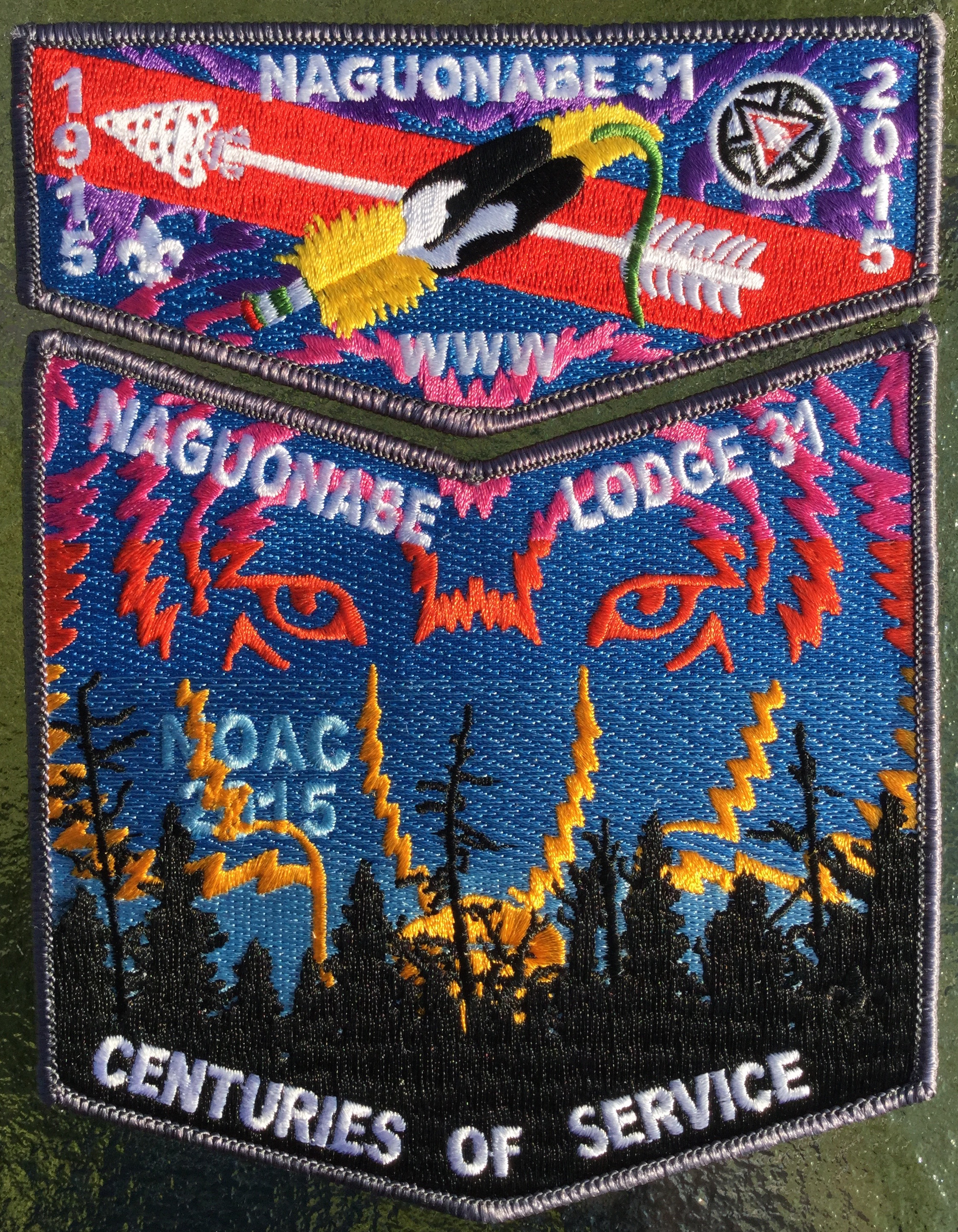 2015 Naguonabe Lodge NOAC Patch.