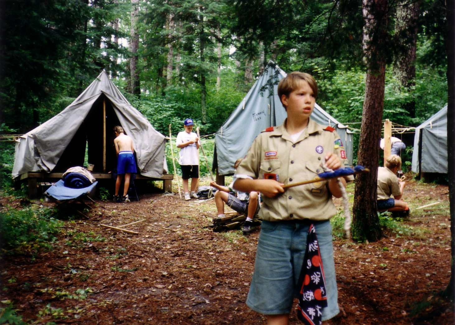 camping trip of the boy scouts You are herewhat to pack for a group camping trip  scout troops are open to  all boys in fifth through twelfth grades (11-18 years old) there are several.