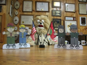 Buttons and the PTC Media flat Scouts