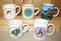 High Adventure coffee mugs.
