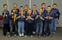 2012 Pinewood Derby participants
