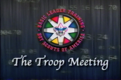 Troop Meeting Training