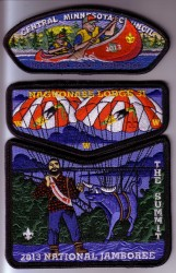 2013 Jamboree Patches
