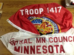 2001 National Jamboree Flag, Troop 1417