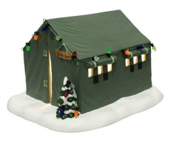 wall tent village piece