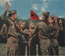 Vintage Boy Scout Patrol