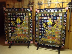 Both patch blankets 1980-2013