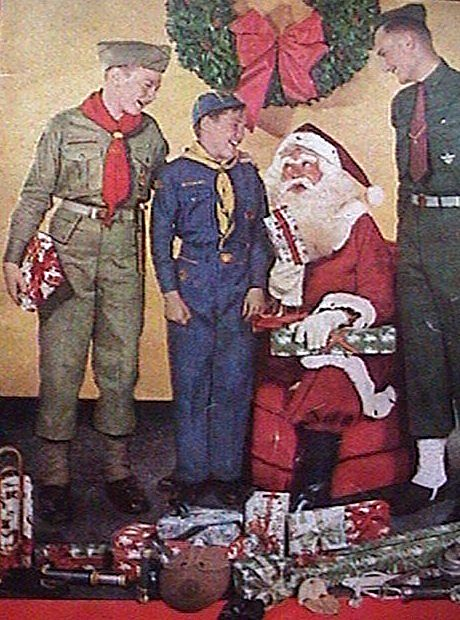 Image result for merry christmas boy scouts