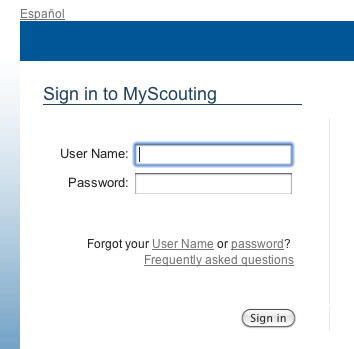 A Scoutmaster's Blog » Blog Archive » MyScouting org Sucks!