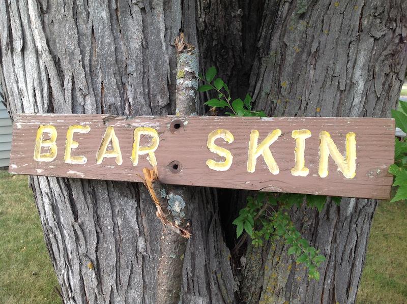 Bear Skin Sign