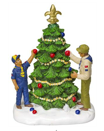 popcorn tree - Boy Scout Christmas Trees