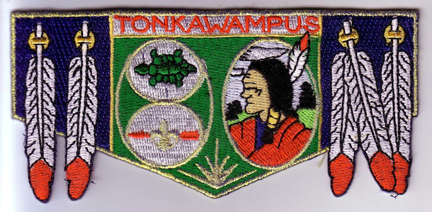 Tonkawampus S19 Lodge Patch