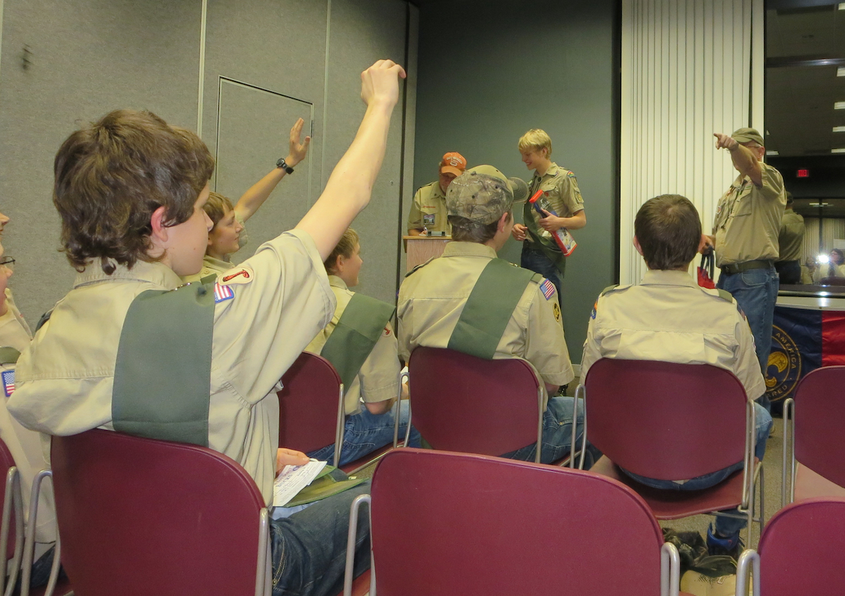 2014 troop auction