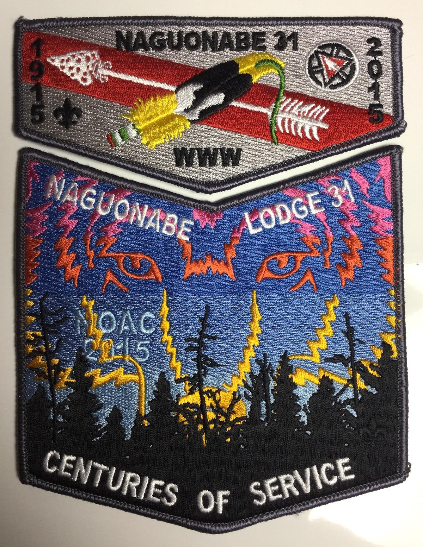 2015 NOAC patches of Naguonabe Lodge