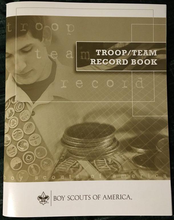 Troop Record Book