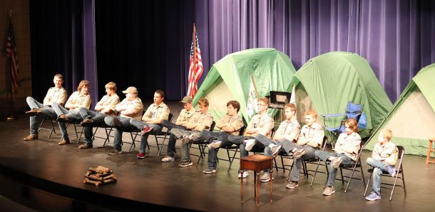Boy Scout skit: Is It Time Yet?