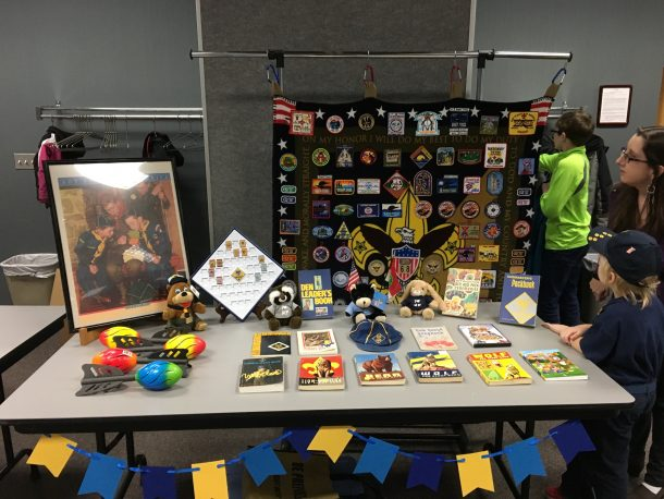 Cub Scout Display